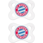 Mam Schnuller Fußball Silikon Gr. 1 FC Bayern München