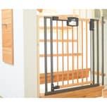 Geuther Treppenschutzgitter Easy Lock Wood Holz Metall 845 - 925 cm