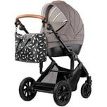 Kinderkraft Kombi Kinderwagen Prime 2020 3in1 inkl. Mommy Bag beige