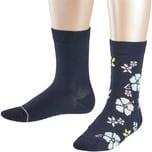 Esprit Socken Doppelpack für Mädchen Blumen