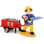Dickie Toys Feuerwehrmann Sam mit Wasserspritzfunktion