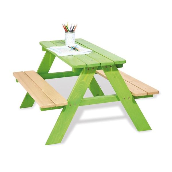 Pinolino Kindersitzgruppe Nicki für 4 Kinder grün