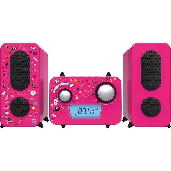 bigben Stereo Music Center MCD11 für Kinder pink