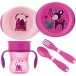 Chicco Geschenkset pink 4-tlg