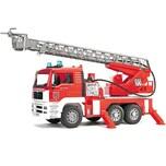 Bruder 02771 TPS MAN Feuerwehr mit Drehleiter Licht und Sound