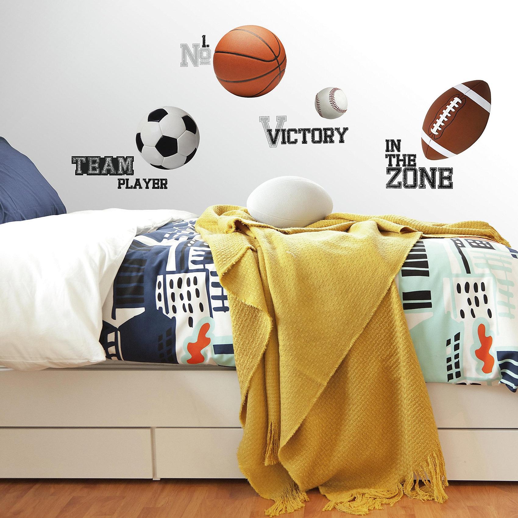 RoomMates Wandsticker All Stars Sports Sayings 24-tlg.