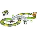 Amewi Magic Traxx Dino-Park mit Brücke Miniset 108-Teilig