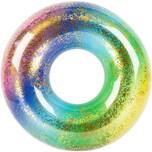 Schwimmring Rainbow mit Glitter 91 cm