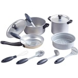 Playgo Chef's Collection - 12 tlg. Metall Kochset
