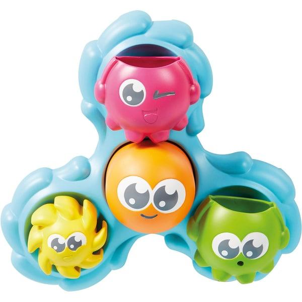 TOMY Badespielzeug Dreh- und Spritz Oktopus