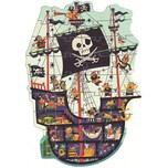 Djeco Riesen-Puzzle Piratenschiff 36 Teile