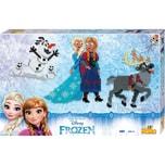 Hama Perlen 7913 XL-Geschenkset Die Eiskönigin 6.000 midi-Perlen und Zubehör