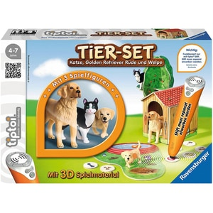 Ravensburger tiptoi® Spielfiguren Tier-Set Golden Retriever