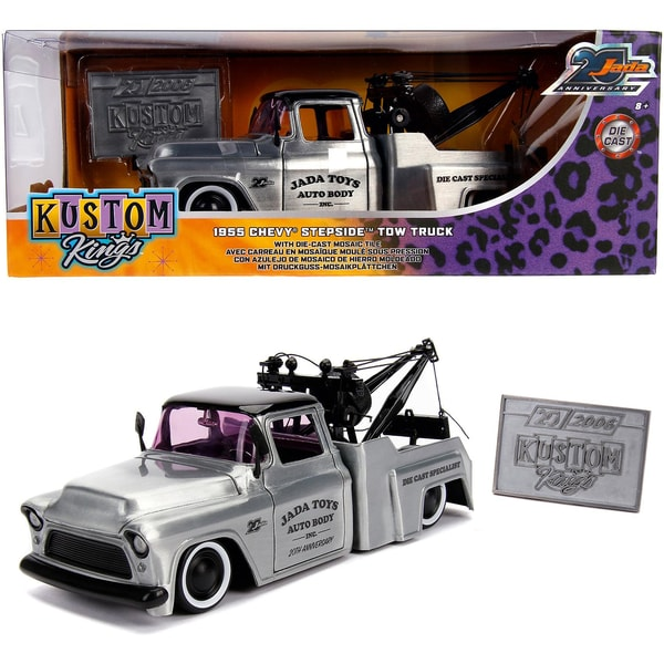 Dickie Toys 1955 Chevy Stepside Tow Truck Wave 1