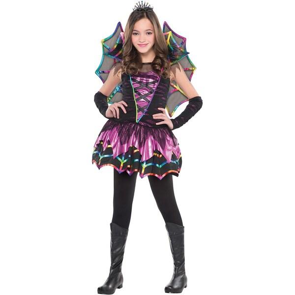Amscan Kostüm Spinne Spider Fairy 4-tlg.