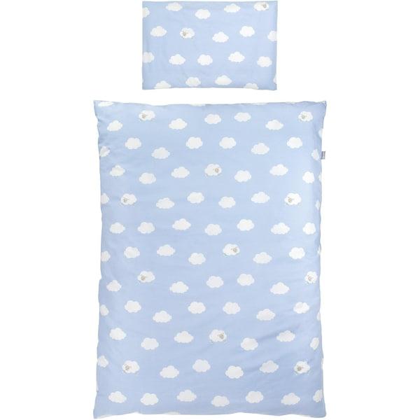 Roba Kinderbettwäsche Kleine Wolke Baumwolle blau 100 x 135 cm
