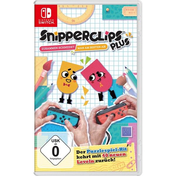 Nintendo Switch Snipperclips PlusZusammen Schneidet Man Am Besten Ab!