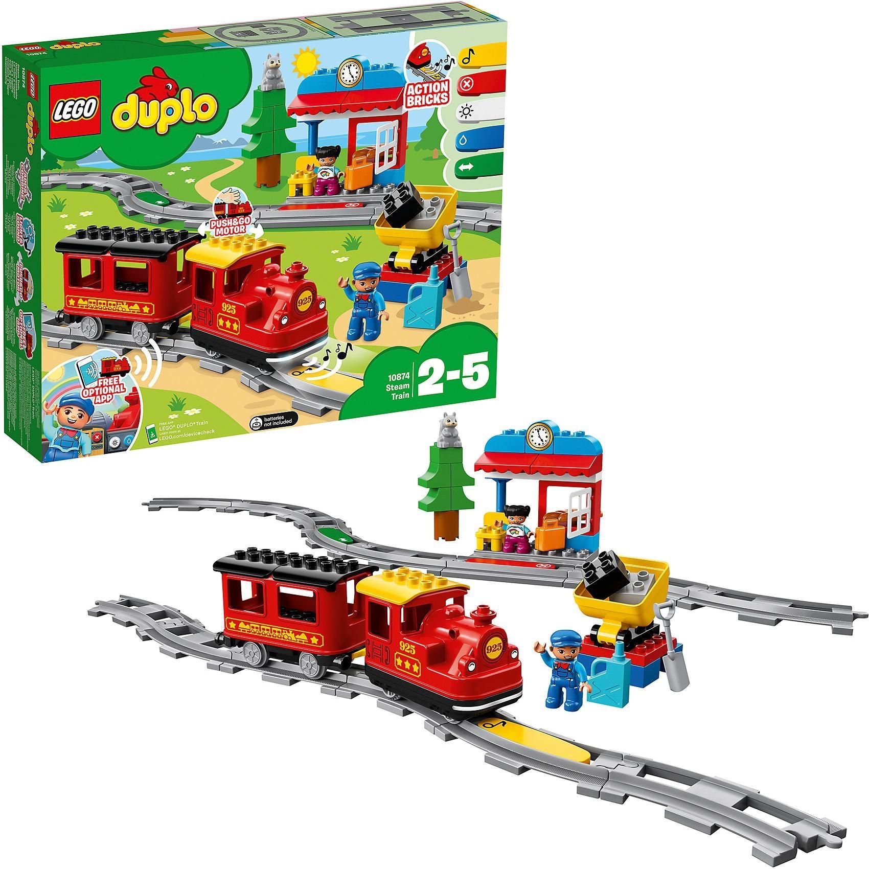 Lego Duplo 10874 Dampfeisenbahn