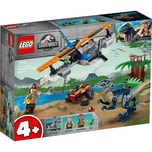LEGO Jurassic World™ - 75942 Velociraptor: Rettungsmission mit dem Doppeldecker