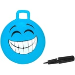 Jamara Hüpfball Smile blau 450mm