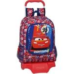 safta Rucksack mit Trolley Disney Cars Lightning