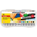 Eberhard Faber Ölpastellkreiden 12 Farben