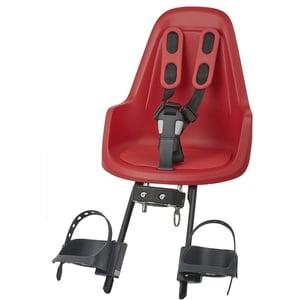 Bobike Fahrrad-Sicherheitssitz Mini One front Strawberry Red