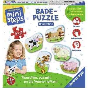 Ravensburger Ministeps Bade-Puzzle Bauernhof 5x2 Teile