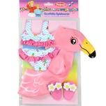 Heless Flamingo-Schwimmset Ella Gr. 35-45 cm Puppenzubehör