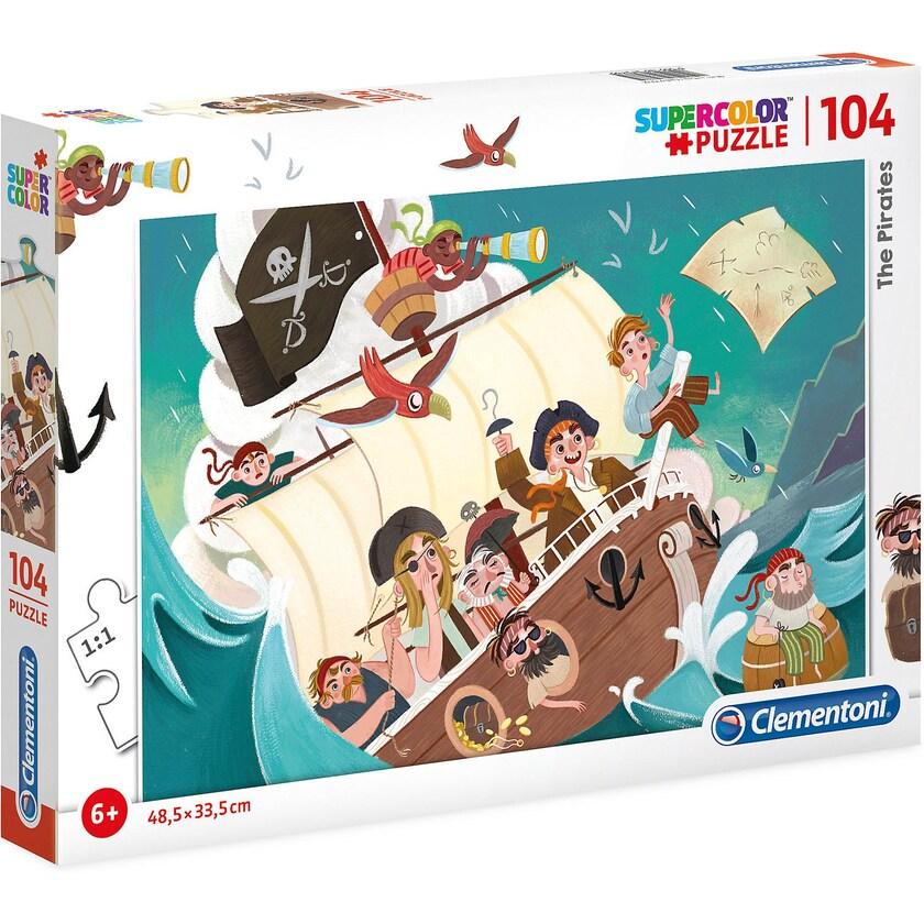 Clementoni Puzzle 104 Teile Piraten