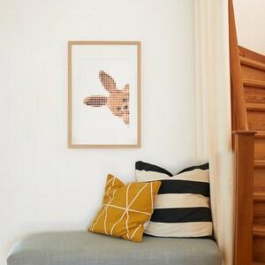 Dot On Art Cuddle Bunny 30 X 40 cm
