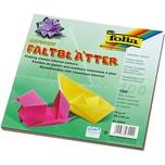 Folia Faltblätter 20 x 20 cm farbig sortiert 100 Blatt