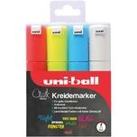 uni-ball UNI Chalk Kreidemarker 8 mm 4 Farben