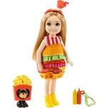 Mattel Barbie Chelsea Puppe im Burger-Kostüm