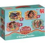 Jumbo 4in1 Konturenpuzzles 14161820 Teile - Elena von Avalor