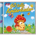 CD 60 tolle Kinderlieder Kiddy Club
