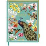 Coppenrath Notizbuch mit glitzerndem Stoffeinband - Edition Barbara Behr
