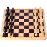Holz Schach-Spiel Holz 29x29 cm