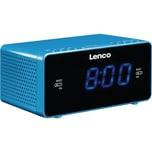 Lenco Radiowecker - USB - Smartphone-Ladeanschluss CR-520 blau