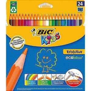 BIC Kids Evolutions Buntstifte 24 Farben