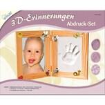 Mammut Spiel und Geschenk 3D Erinnerungen Gipsabdruck-Set Bilderrahmen 2-tlg.