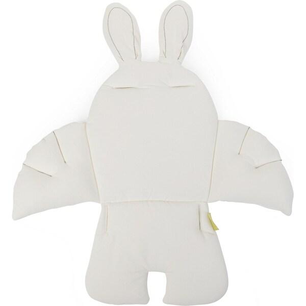Childhome Sitzkissen Kaninchen universell weiß