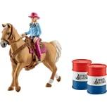 Schleich 41417 Barrel racing mit Cowgirl