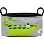 3 Sprouts Kinderwagentasche Krokodil 16 x 32 cm