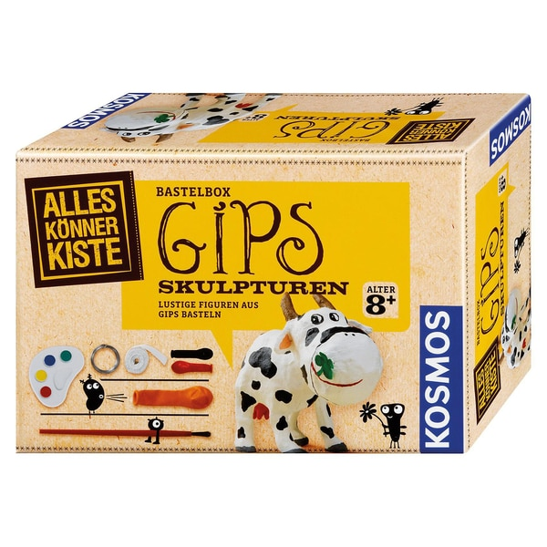 Kosmos Verlag Basteln Gips-Skulptur