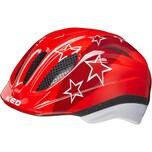 KED Helmsysteme Fahrradhelm Meggy II red stars