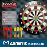 Bulls Magnetic Dartboard mit 6 Pfeilen