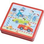 Haba Magnetspielbox Flotte Flitzer
