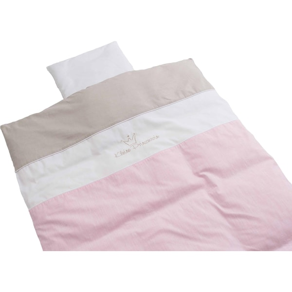 Be Be'S Collection Babybettwäsche Kleine Prinzessin Rosa 80 X 80 cm