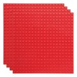 Basisplatte 20x20 Rot Viererpack